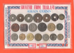 Asia Set 20 Asian Coins X Tourist - Munten