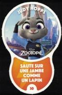 Carte à Collectionner Disney Auchan Les Défis Challenge Judy Hopps 30 / 96 - Andere Sammlungen