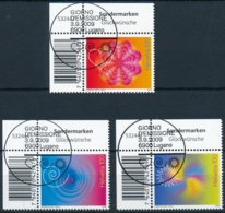 1320-1322 Eckrandstück Serie Mit ET-Vollstempel / Obliteré Plein - Switzerland