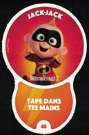 Carte à Collectionner Disney Auchan Les Défis Challenge Jack Jack 40 / 96 - Andere Sammlungen