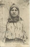 """Maroc Oriental , Jeune Femme Juive , + Cachet Militaire De """" DAR EL CAID """" - Non Classés"""