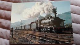 Locomotive 140C27 En Tête De La Rame De Boites-Tonerres Citev à Schirmeck - Treni