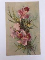 Carte Postale Ancienne  (1937)  Signée Catharina Klein  Lys Et Mimosa - Klein, Catharina