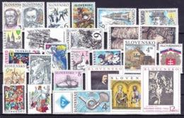 ** Slovaquie 1997 Mi 271-299, (MNH) L'année Complete - Slovakia