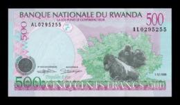 Ruanda Rwanda 500 Francs 1998 Pick 26 SC UNC - Ruanda-Urundi