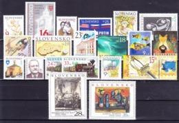 ** Slovaquie 2005 Mi 504-526, (MNH) L'année Complete - Slovakia