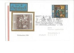 22407 - Christkindl 1985 Cover Pour Baden 06.01.1985 + Vignette - Noël