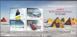 Australian Antarctic Territory 2019 Bloc Feuillet 50 Ans Base Casey Station De Recherche Neuf ** - Territoire Antarctique Australien (AAT)