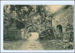 Y13780/ Meseritz Schloß-Ruine AK 1910  Bz. Posen  - Posen
