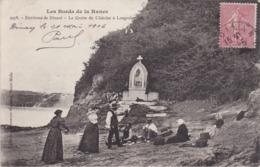 Les Bords De Rance - Environs De Dinard - La Grotte Du Châtelet à Langrolay - Animé - Dol De Bretagne
