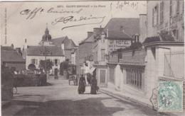 DINARD - SAINT-ENOGAT - La Place - Gd Hôtel Des Etrangers - Hôtel De Karvor - Animé - Dinard