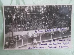 Chateaurenard . Un Coup De Barriere Du Sarraie Au Raseteur Michel . Trident D Honneur . Courses Camarguaises - Chateaurenard