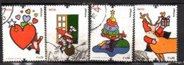 """Série Complète """"Nativité Noël"""" - OB - Lot N° 3449 à 3452- - Oblitérés"""
