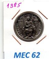 MEC 62 * 25 Escudos 1985 Cortes De Coimbra * Portugal - Portugal