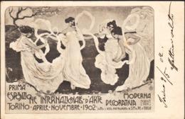 16072 - Torino - Prima Esposizione Internazionale D'Arte - Aprile,Novembre 1902 F - Mostre, Esposizioni