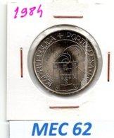 MEC 62 * 25 Escudos 1984 25 De Abril Liberdade  Democracia * Portugal - Portugal