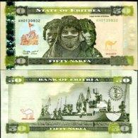 ERITREA 50 NAKFA 2011 P 9 UNC - Eritrea