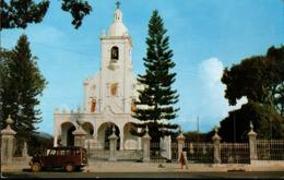 ! Moderne Ansichtskarte San Salvador, Santuario Nacional, Jeep - El Salvador