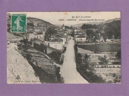 Cpa. 46. Catus. Faubourg Saint-Barnabé. ( 2 Scans ) - Sin Clasificación