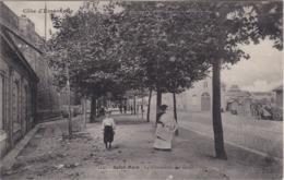 SAINT-MALO - La Promenade Des Quais - Animé - TBE - Saint Malo