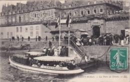 SAINT-MALO - La Porte De Dinan - Vedette Pour Dinard - Belle Animation - TBE - Saint Malo