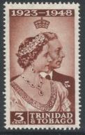 Trinidad & Tobago. 1948 KGVI Royal Silver Wedding. 3c MH. SG 259 - Trinidad & Tobago (...-1961)