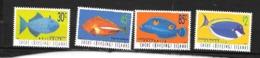 Cocos Keeling Islands, Yvert 331/334 Poissons, MNH - Cocos (Keeling) Islands