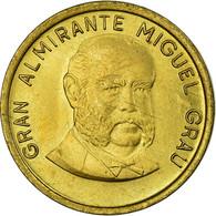 Monnaie, Pérou, 10 Centimos, 1986, Lima, SUP, Laiton, KM:293 - Perú