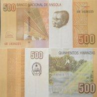 Angola 500 Kwanzas 2012(2017) P - 155 UNC - Angola