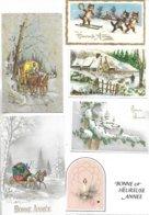 Lot De 100 Cartes Diverses Et Différentes De Nouvel An. Voir Les Scans - Nouvel An