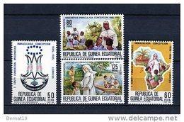 Guinea Ecuatorial 1985. Edifil 65-68 ** MNH. - Guinea Ecuatorial