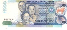 Philippines P.197 1000 Piso 2001  Unc - Filippijnen