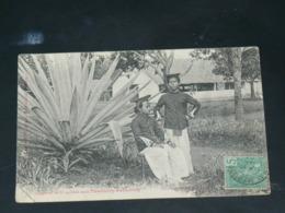 VIET NAM / INDOCHINE   1910  /  VUNG TAU /  CAP SAINT JACQUES  VUE  TIRAILLEURS ANNAMITES  ..  EDITEUR - Viêt-Nam