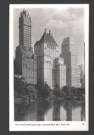 New York City - View South From Lower Lake In Central Park - Actual Photograph - Central Park