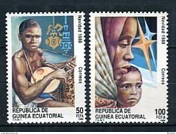 Guinea Ecuatorial 1988. Edifil 107-08 ** MNH. - Guinea Ecuatorial