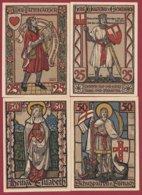 Allemagne 6 Notgeld  Stadt Eisenach ( Série Complète)  Dans L 'état N °22 - Collections