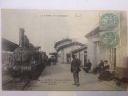 Livron Artige 1284 Drome Pittoresque Gare Train Locomotive - France