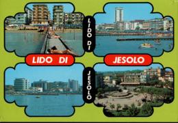 ! Moderne Ansichtskarte Lido Di Jesolo, 1989, Italien, Italy - Italia