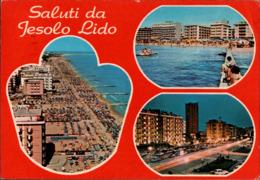 ! Moderne Ansichtskarte Saluti Da Lido Di Jesolo, 1981, Italien, Italy - Italia