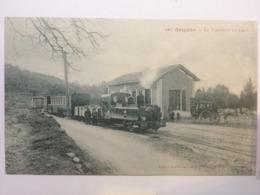 Grignan Le Tramway En Gare 448 - France