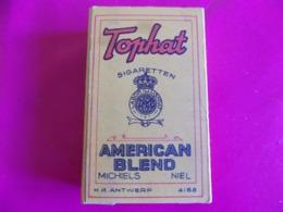 Paquet De 10 Cigarettes U.S. Marque TOPHAT Original Et Complet. - 1939-45