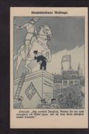 CPA Allemagne Germany Patriotique Caricature Satirique Kaiser Non Circulé Jeu De Cartes Jeanne D'Arc - Guerre 1914-18