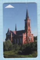 BELARUS / Phonecard / Phone Card / Beltelecom. Architecture. Church Of St. Anthony Of Padunsky. 2007 - Wit-Rusland