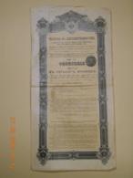 OBLIGATION RUSSE - GOUVERNEMENT IMPERIAL De RUSSIE - RENTE CONSOLIDEE  4% Série 42 De 1901 - Russie
