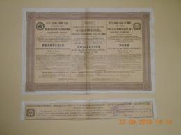 LOT De 3 OBLIGATIONS RUSSE - CHEMINS De FER  De VOLGA-BOUGOULMA à 4% De 1910 Et 4,5% De 1908 - Russie