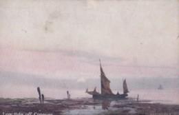 AP76 Low Tide Off Cromer - Artist Signed A Sanders - Angleterre