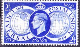 Großbritannien Great Britain Grande-Bretagne - 75 Jahre UPU (MiNr: 241) 1949 - Postfrisch MNH - Unused Stamps