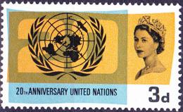 Großbritannien Great Britain Grande-Bretagne - 20 Jahre UNO (MiNr: 404x) 1965 - Postfrisch MNH - 1952-.... (Elizabeth II)