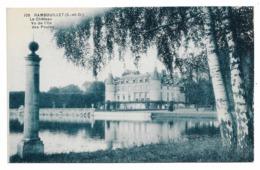 Cpa 78 Rambouillet - Le Château Vu De L'Ile Des Poules - Rambouillet (Château)