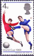Großbritannien Great Britain Grande-Bretagne - Fußball-WM (MiNr: 422x) 1966 - Postfrisch MNH - 1952-.... (Elizabeth II)